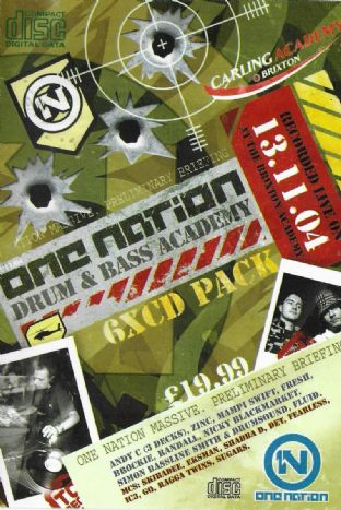 ONE NATION - DRUM & BASS ACADEMY - 13.11.04